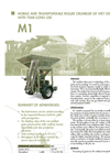 Model M1 - Wet Grain Mobile Crusher Brochure
