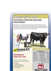 Power Lix - Model 21 CGS - For All Classes of Cattle, Sheep and Goats Datasheet