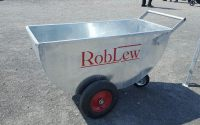 Lewis - Galvanised Meal Trolley