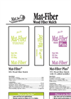 Mat - Fiber Plus Wood Fiber Mulch Brochure