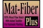 Mat - Model Fiber Plus - Wood Fiber Mulch