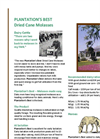 Plantation's Best - Dried Molasses Brochure