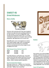 Westway - Model Sweet 45 - Combination of Molasses and Dried Sugar Brochure