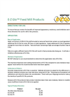 Westway - Model E-Z Glo - Feed Mill Brochure