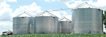 Farm Grain Storage Bins