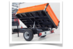 Model T - Three-Way Tipper with Hydraulic Mechanical Brake