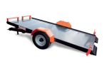 Model C - Flatbed Doors Trailers with Outer Wheels