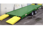 Model Q - Double Axle Tandem Flatbed Trailers