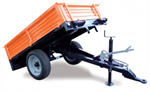 IMeG - Mechanical Tilting Flatcar Trailer