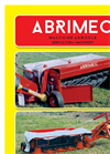 Model FM 180/C & FM 230/C - Rotary Mowers with Conditioner - Brochure