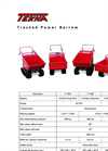 Tracked Power Barrow Brochure