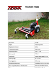 Model TR 100 - Dual Head Trimmer Brochure