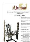Model PF-40.14-D - Double Articulated Disc Pre-pruner Brochure