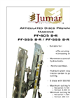 Model PF-605 / PF-555 - Articulated Discs Pruning Machine Brochure