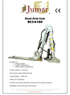 Model BCS-6180 - Dual Arm Saw Brochure