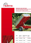 Model RP 12 S - Hidraulic Rear Tipping Trailer Brochure