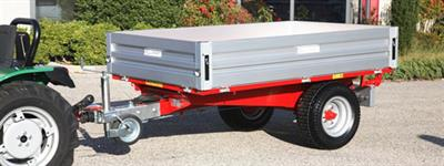 Ravenna - Model RPE 210 - Hidraulic Rear Tipping Trailer