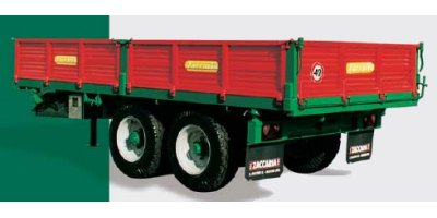 Model ZAM 140 Special - Double Axle Trailers with Driving-Axle
