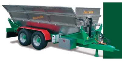 Model ZAM 110 BL - 2 Way Grape Tipping Trailers