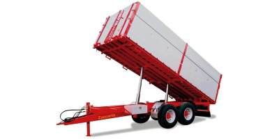 Zaccaria - Model ZAM 140 - Two-Axle Trailers With Three-Way Tipping