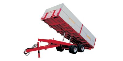 Zaccaria - Model ZAM 140 DU - Two-Axle Trailers With Three-Way Tipping