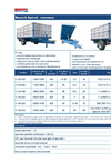 Model CMBM - Single Axle Trailers - Brochure