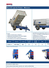 Bonsegna - Model CMB50VM1 - Single Axle Dump Trailers Brochure