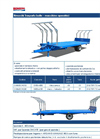 Model CMB50CIN210 & CMB60CIN250 - 60q Bales Single Axle Transport Trailers Brochure