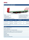 Model CMB140CIN65 & CMB140CIN75 - 140q. Bales Tandem Transport Trailers - Brochure