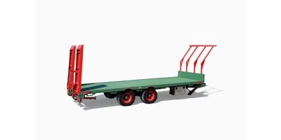 Model CMB140CIN65 & CMB140CIN75 - 140q. Bales Tandem Transport Trailers
