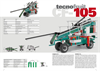 Tecnofruit - Model CF 105 - Leveling Fruit Picking Machine Brochure