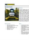 Hammer - Model CASTOR - Robust Mulching Machine Brochure