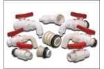 Bucchi - Model LINE 3000 - Polypropylene (PP) Fittings and Valves