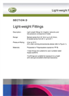 Light Weight Fittings  Brochure