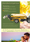 Pulcinelli - Harvester for Vineyards and Pergola Brochure