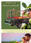 Pulcinelli - Model PSRF 2.4 - Fruit Picking Machine Brochure