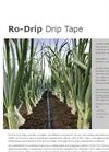 Ro-Drip - Drip Tape Brochure