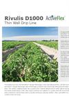 D1000 Thin Wall Drip Line Datasheet