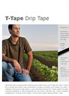 T-Tape Drip Tape Datasheet