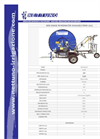 Nettuno - Model A200 - A201 - Hose Reel Irrigators - Brochure