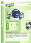 Nettuno - Model Junior - Hose Reel Irrigators - Brochure