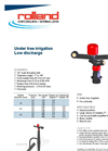 Model 6 - Under Tree Irrigation Low Discharge Sprinklers Brochure
