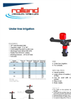 Model 7 - Under Tree Irrigation Sprinklers Brochure