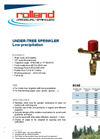 Model 8 - Low Precipitation Under Tree Sprinkler Brochure