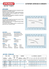 Model CBM 60 - Centrifugal Irrigation Pump Brochure