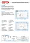 Model SM 85-3 - Multistage Pump Brochure