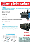 Garden Inox - Self Priming Surface Pump Datasheet