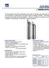 Model Ebara Idrogo, Multigo series - 5` Submersible Centrifugal Multistage Pump Brochure