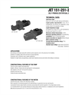 Model DAB JET 151, 251, 200, 300 - Cast Iron Pumps Brochure