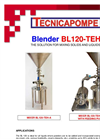 Tecnicapompe - Model BL 120 - Blender - Brochure